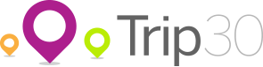 Trip 30 Logo